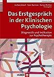 Das Erstgespräch in der Klinischen Psychologie. Diagnostik und Indikation in der Psychotherap