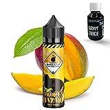 Bang Juice Aroma Tropenhazard wild Mango - Shake-and-Vape - Zum Mischen mit Basisliquid für E-Liquid - 15 ml - Plus 100ml Basisliquid von ArmyJuice 50VG/50PG (Für das direkte anmischen des Liquids)