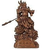 LXHJZ Guan Yu Statue Ornament, Guan Gong/Guan Di/Guan Yun Chang Einrichtungsgegenstände Schreibtisch Einrichtungsgegenstände Home Office Dekor, DREI Königreiche Held