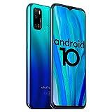 Ulefone Note 9P Handys - Ultra-großes 6,52-Zoll-Bildschirm-Smartphone ohne Vertrag, Android 10-Betriebssystem Simlockfreie Handys, 4GB RAM 64GB ROM-Speicher, 4500mAh Batterie, 4G Globale Bands(Blau)
