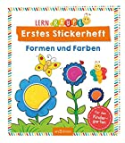 Lernraupe - Erstes Stickerheft - Formen und Farben