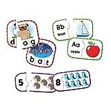 Learning Resources LER6090 3er-Packung Puzzlekarten zur Vorbereitung auf die Vorschule, Puzzles zur Eigenüberprüfung, ab 3J