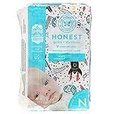 The Honest Company, Superweiche Einlage für Neugeborene, bis zu 4,5 kg, Weltraumreise, 32 W