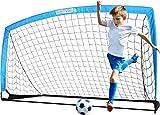 bayinbulak Fussballtor Pop Up Fussballtore für Kinder Garten Fussball Tor Football Ball Tore x1