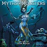 2020 Myths & Monsters: The Art of Tom Woods 16-Month Wall Calendar: By Sellers Publishing