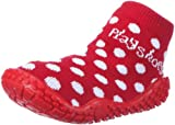 Playshoes Mädchen Aqua-Socke Punkte Dusch-& Badeschuhe, Rot (rot 8), 22/23 EU