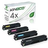4 Toner kompatibel mit Samsung CLP-415 CLP415 für Samsung Xpress C1810W/SEE, Xpress C1860FW/XEC, CLP-415N/XEC, CLP-415NW/XEG - Schwarz 2.500 Seiten, Color je 1.800 Seiten