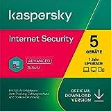 Kaspersky Internet Security 2021 Upgrade | 5 Geräte | 1 Jahr | Windows/Mac/Android | Aktivierungscode per Email