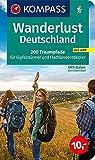 Wanderlust Deutschland: 200 Traumpfade für Gipfelstürmer und Flachlandentdecker, GPX-Daten zum Download. (KOMPASS Wander- und Fahrradlust, Band 1600)