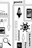 Scrum Master Notizbuch | KARIERT | 6x9 Zoll - ca. DIN A5 | 120 Seiten | Journal Notizen Buch für Sprint Review, agiles Arbeiten und Projektmanagement