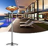 DYCLE Elektrische Regenschirmheizung, 2210 / 3000W Garten-Terrassenheizung im Freien , Hocheffiziente Kohlefaserheizung, komfortable 3-Gang-Heizung, Innen- oder Außenbereich