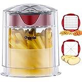 Pommesschneider, Schnell Schneidender Kartoffelschneider, Obstschneider-Wedger Leicht zu Reinigen, Apfelschneider für Gemüse und Obst
