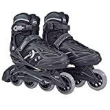 Best Sporting Inline Skates, Zehenbreite verstellbar, ABEC 7 Carbon Kugellager, Inliner für Teenager und Erwachsene (41-42)