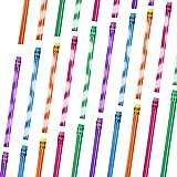 Farbwechsel Stift mit Radiergummi Holz Bleistifte Wärmeaktivierte Farbwechsel Stifte Thermochrom Unterscheidlich Farben (30 Stücke)