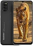 Blackview A70 Android 11 Smartphone ohne Vertrag Günstig, 6,5 Zoll HD+ Display 5380mAh Akku, 13MP+5MP Dual Kamera, 3GB + 32GB ROM, Dual SIM Handy Schwarz
