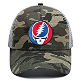 Snapback Baseballkappe, Trucker Dad Hüte, Reise, Strand, beliebte Sport-Ballmütze, verstellbar, für Männer und Frauen - Gold - Einheitsgröße