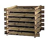 Steckkomposter Holz Kompostsilo Bausatz 100x100x70cm Komp