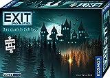 KOSMOS 680787 EXIT Das Spiel + Puzzle - Das dunkle Schloss, Level: Einsteiger, Escape Room Spiel mit Puzzle, für 1 bis 4 Spieler ab 10 Jahre, einmaliges Event-Spiel, spannendes Gesellschaftsspiel