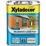 Xyladecor Holzschutz-Lasur PLUS Weißbuche 2,5 l Außen Imprägnierung Langzeit