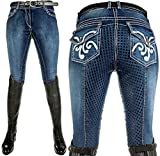 HKM Pasadena Hose jeansblau 40, 4057052015212