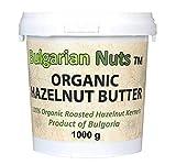 1 kg Bio Haselnuss Butter, Frei von - Gluten, Zusätze, Salz, Zucker, Palmfett