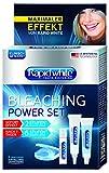 Rapid White Bleaching Power Set, sofortige Zahnaufhellung, ohne Wasserstoffperoxid, für bis zu 7 Stufen weißere Zähne, Bleachinganwendung für Zuhause