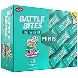Battle Bites Minis High Protein und Low Carb Riegel 31g (20 Stück) (White Chocolate Toasted Marshmallow)
