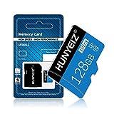 Micro-SD-Karte, 128 GB, Klasse 10, High-Speed, Micro-SD-SDXC-Karte, Speicherkarte mit SD-Adapter (128 GB)