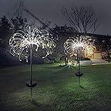 Solar Garten Lichter Feuerwerk Lichter, Outdoor 150 LED Solarbetriebene Feuerwerk Lichter, wasserdichte Fee Girlande String Rasen Straßenlaterne Hausgarten Urlaub Dekoration