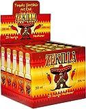 Tequila-Zimt-Chilli, Zekilla Likör, Shot´s, 25 x 2cl. 20% vol. Acl.