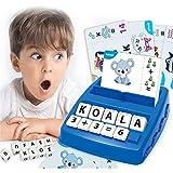 ZHANG Spielzeug für Jungen und Mädchen von 2-8 Jahren, Passendes Alphabet-Spiel Geeignet für Pädagogisches Lernspielzeug für Kinder Im V