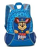 """PawPatrol Kindergartenrucksack Jungen – Kinderrucksack für Jungen von 3-6 Jahren mit abstehenden Stoffohren von PawPatrol """"Team Paw"""" – 35cm x 27cm x 15cm 6L blau"""