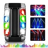 AGPTEK Spider Moving Head Licht LED Bühnenlicht DJ Beleuchtung RGBW 4 in1 Partylicht Spider Lights, Kompatibel DMX-512 mit 4 Steuerungs Modi für DJ, Disco, Club, Party, Konzert und Hochzeit