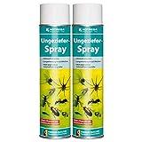 HOTREGA Ungeziefer Spray 600 ml - Insektenvernichter, Wespenspray, Insektenspray, Schädlingsbekämpfung, Mengen:2
