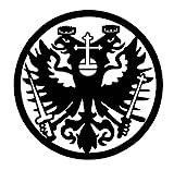 Metall-Design-Dithmarschen das Klassische Zunftzeichen der Schuhmacher aus 3mm Stahl mit den Maßen 40cm - 90cm (70cm)