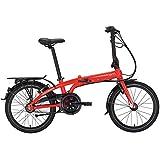 Tern Unisex Fahrrad Link C3i Faltrad, 3 Gang, 20', Rot, CB19PFCO03HDR