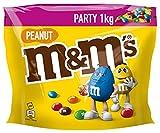 M&M'S | Peanut | Schokolinsen mit Erdnusskern | Eine Packung (1 x 1000 g)