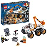 LEGO 60225 City Rover-Testfahrt, Weltraumabenteuer Bauset, Expedition Mars Fahrzeugspielzeug mit Astronauten-Minifigur, inspiriert von der NASA