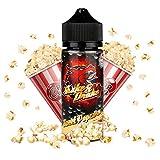 Riccardo DIY Longfill e-Liquid Shake and Drake (70% VG/30% PG, zum Mischen mit Base Liquid für e-Zigarette, 0 mg Nikotin) Sweet Popcorn, 80 ml