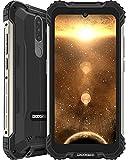 DOOGEE S58 Pro (Offiziell) Outdoor Smartphone Ohne Vertrag Spezieller Schutzwinkel 6GB RAM 64GB ROM 5,71 Zoll FHD+ 16MP+16MP Triple Kamera 5180 mAh 4G Dual SIM Handy NFC GPS Android 10.0 (Schwarz)