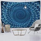 Indische Mandala Tapisserie Hippie Boho-Stil Dekoration Wohnzimmer Schlafzimmer Wand Hintergrund Wandbehang Decke A5 73x95cm