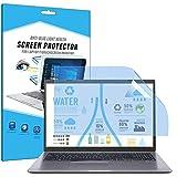 FiiMoo 15.6' Laptop Anti-Blaulicht Schutzfolie, Premium Anti Blue Screen Protector, Blendschutzfolie Augenschutz Displayschutzfolie für 15.6 inch Laptop (2 Pack