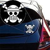 wandaufkleber 3d Wandtattoo Schlafzimmer Auto Aufkleber Auto Aufkleber One Piece Ruffy Flag Decal Sticker 15C