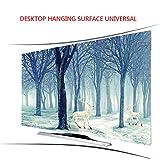Lxxzz Curved TV Desktop Hanging Hood Tuch Staubdicht Sonnenschutz Professionelle Anpassung Fernseher 55 Zoll,42'