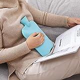 Wärmflasche, einfarbig, dick, PVC, Silikon, Gummi, für Bewässerung