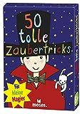 Moses 42777699 50 tolle Zaubertricks für kleine Magier | Kinderbeschäftigung | Kartenset