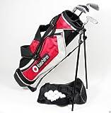 GOLFSET KINDER Kids 9-12 Jahre - GolfBag + 4 Golfschläger + Zubehör Eisen 6/7, 8/9 SW, Putter, 9 Golfbälle Golf Starterset Junior Mädchen Girls Jungen Boys 019