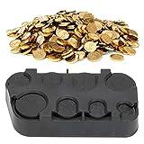 Euro Coin Organizer, Euro Coin Dispenser, Plastik Euro Coin für Auto Coin Auto