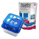 EUROXANTY Luftentfeuchter Box | Raumentfeuchter mit Granulat | inkl. 900 g Nachfüllpack