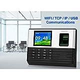 Ausrüstung TCP/IP/WiFi 2,8 Zoll biometrischer Fingerabdruck Zeiterfassungsgerät RFID-Karte Fingerabdruck Zeiterfassung Systemunterstützungsbatterie